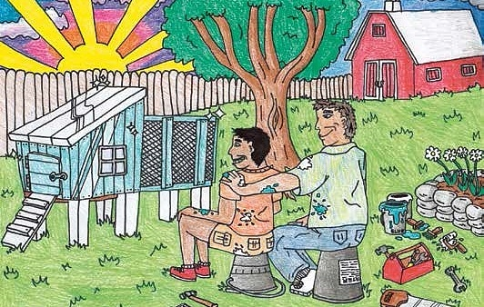 Grandpa and the Chicken Coop All Jack needs is just one project with Grandpa
