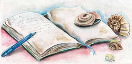 Memories book and a pen