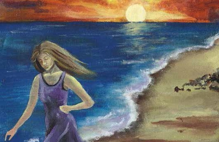 Memories walking on the shore