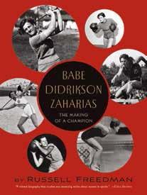 Babe Didrikson Zaharias book cover