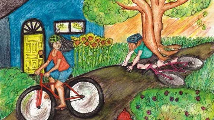 About Winning girls biking