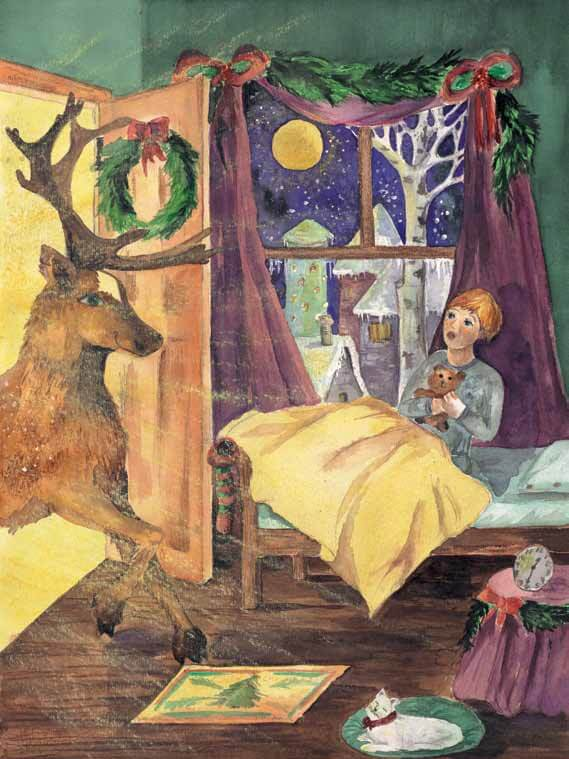 Christmas Magic reindeer visits
