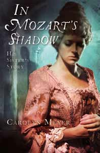 In Mozart's Shadow: His Sister's Story book cover