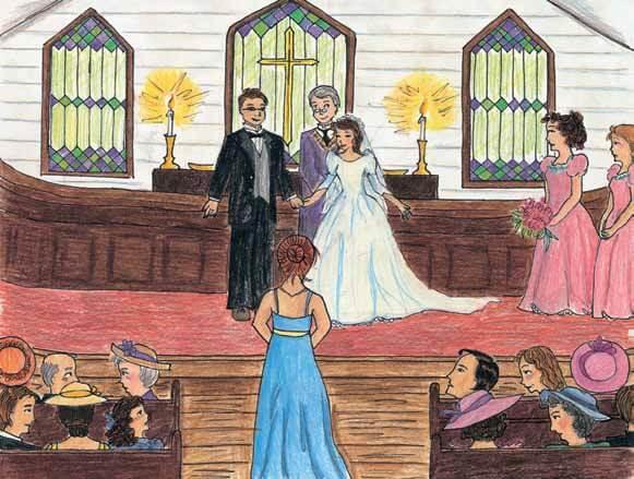 Not Your Ordinary Fairy Tale church wedding