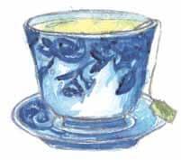 The Water Gun Fight tea cup