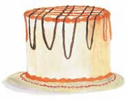 How to Survive a Line Drive birthday cake