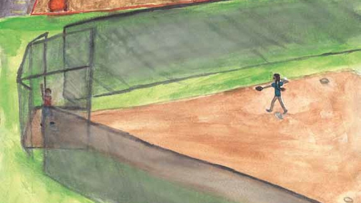 How to Survive a Line Drive playing baseball