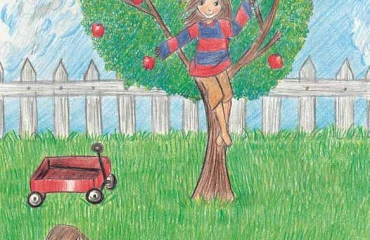 Rose's Tree climbing a tree