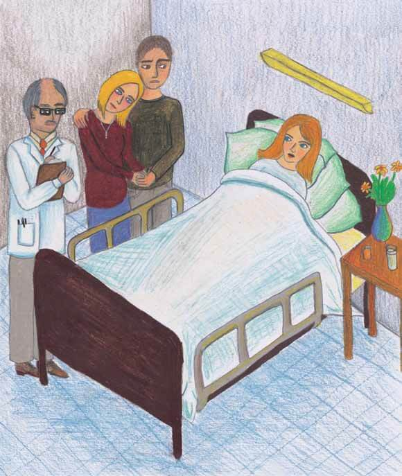 Let It Be girl in hospital bed