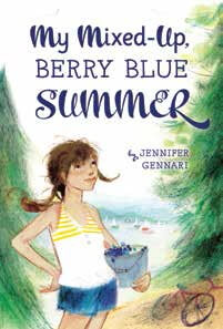 My Mixed-Up Berry Blue Summer book cover