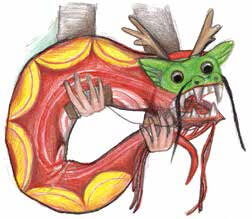 The Dragon Kite dragon kite form