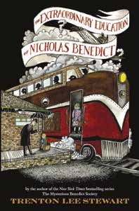 The Extraordinary Education of Nicholas Benedict book cover