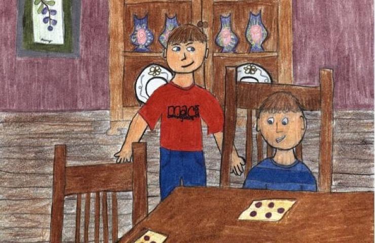 Sour Memories contest between boys