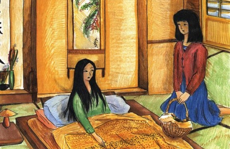 Kanei's Treasure visiting the sick