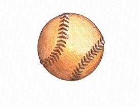 The Baseball a baseball