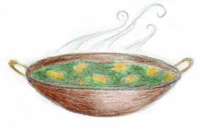 Home pot of food