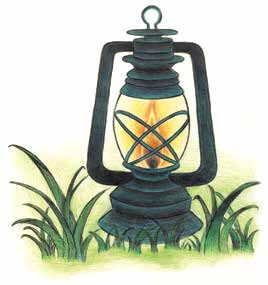 The Shape Stealers light lantern