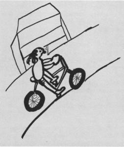 My Story riding a bike