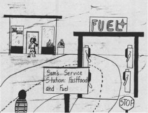 The Captive Fuel Station