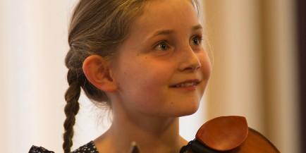 Composer Alma Deutscher, born 20075