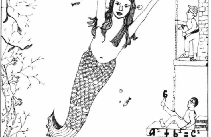 As Long As We're Happy mermaid
