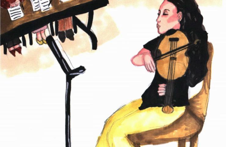 Musical Dreams playing violin
