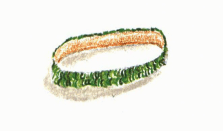 A Parting Gift green bracelet