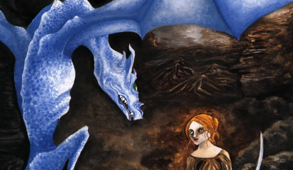 Penny's Journey The blue dragon tempts Penny with visions of a perfect world