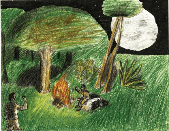 Dreams green forest