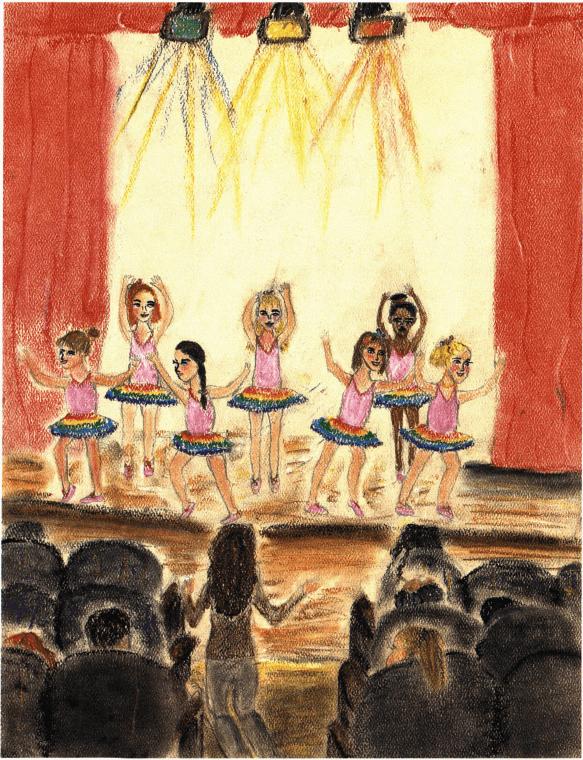 A Bouquet dance recital