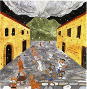 Pompeii's Last Day volcano eruption