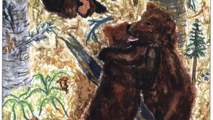 Feelings Towards a Bear girl playing with bears