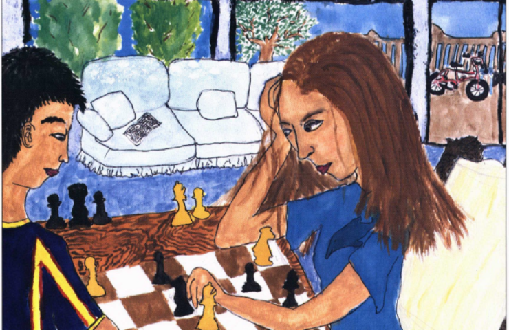 Finding an American Voice playing chess