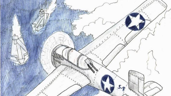 World War II Story aircraft bomber