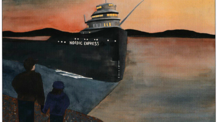 Every Nordic Night looking at a boat