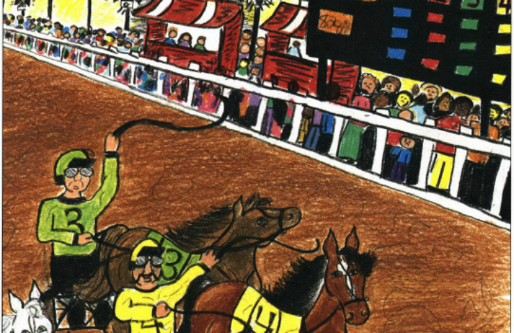 Colors of a Champion horse race