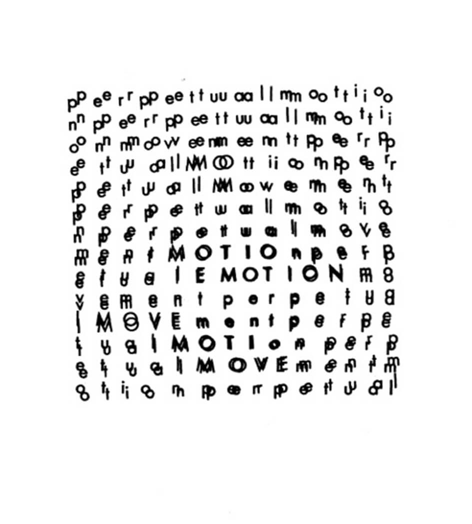 Contest For Summer 2018: Concrete Poetry