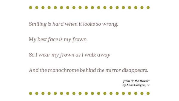 In the Mirror  By Anna Calegari