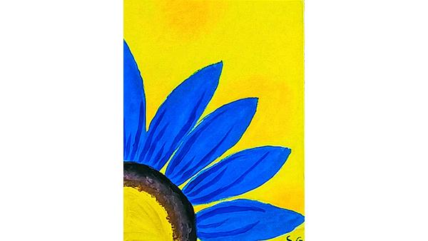 Sun Flower  By Sloka Ganne