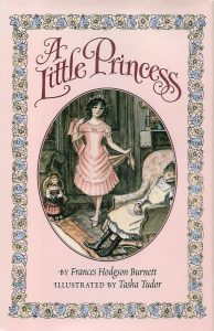 Book cover for A Little Princess by Frances Hodgson Burnett