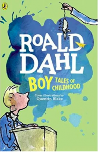 Book cover for Boy: Tales of Childhood by Roald Dahl