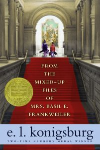 Book cover for From the Mixed-Up Files of Mrs. Basil E. Frankweiler by by E.L. Konigsburg