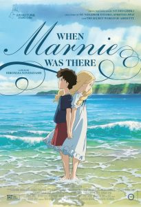 Movie poster for When Marnie Was There A Studio Ghibli Film